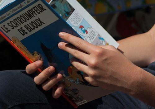 La bande dessinée, le livre qui transmet des valeurs honorables